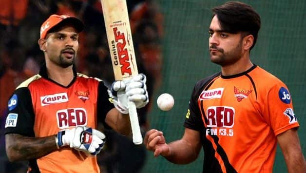 Rashid Khan praises shikhar dhawan Innings against Ireland's in 1st T20