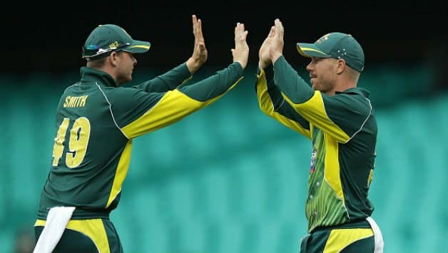 Steven Smith and David Warner © Getty Images