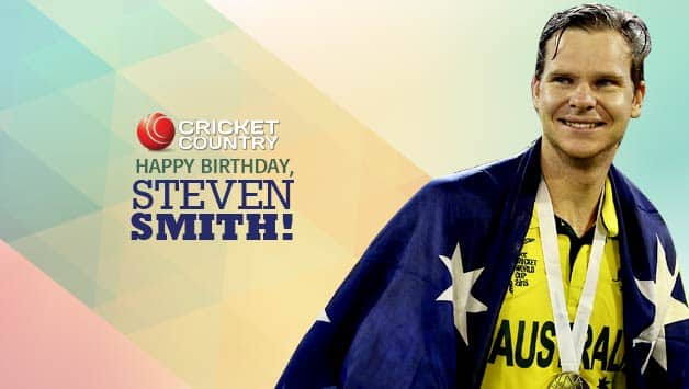 Steven Smith scored the winning runs for Australia in 2015 World Cup Final