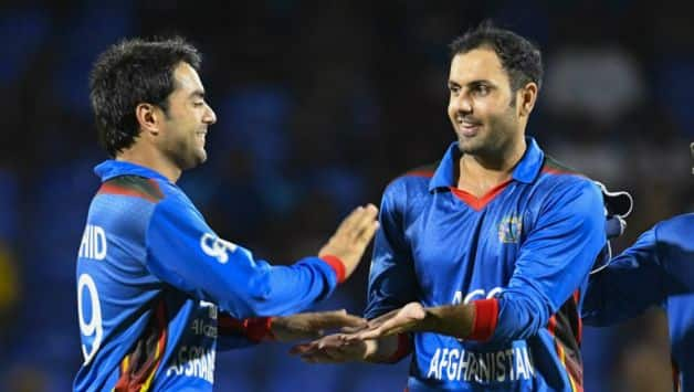 The experience of Rashid Khan and Mohammad Nabi will play a vital role in the Test © AFP
