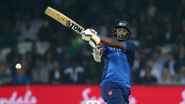 Thisara Perera fought hard with his 61 but failed to win it for the team © Getty Images