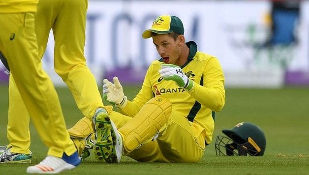 Australian Skipper Tim Pane flops from the bat in all five ODI vs England