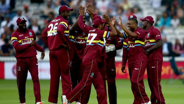 West Indies comfortably won the match by 72 runs © Getty Images