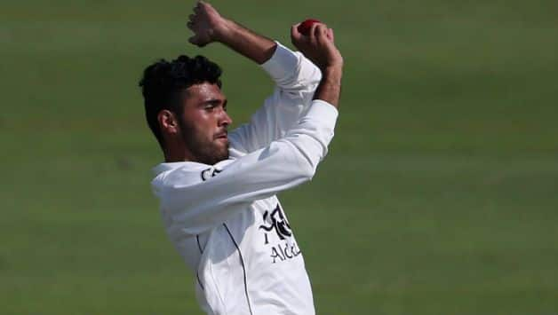Yamin Ahmadzai claims first test wicket for Afghanistan team