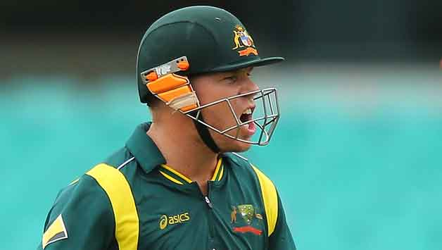 David Warner scores only 1 run on return to competitive cricket