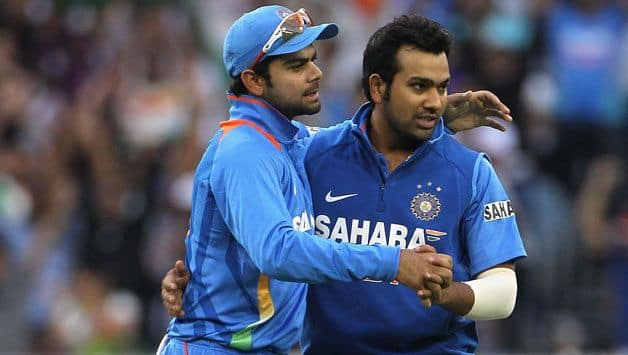 Virat kohli and Rohit Sharma miss chance to complete 2000 runs in t20i