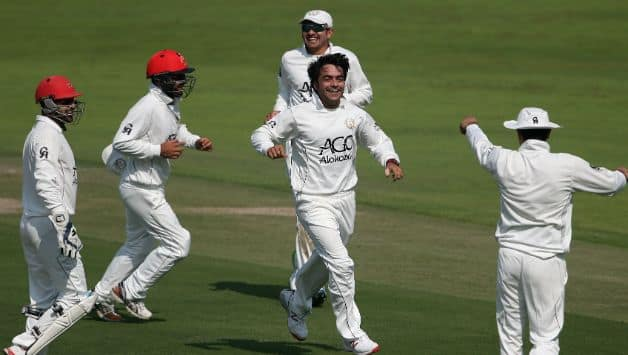 Afghanistan scores 3rd-lowest by any team in debut Test