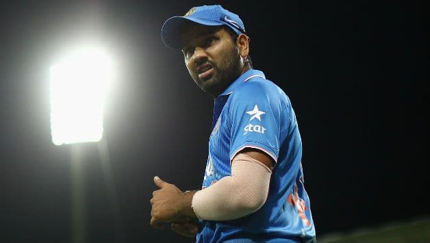 Rohit Sharma Throws Ceremonial 'First Pitch' at Baseball Club Seattle Mariners