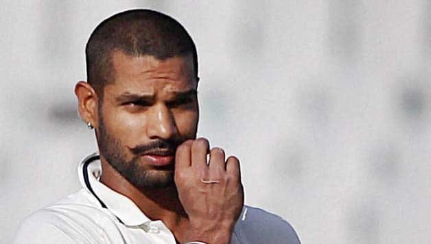 Shikhar Dhawan says Really happy about the way I've been playing