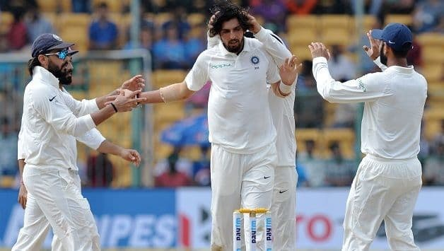 India becomes the first Asian team to win a Test match by bowling less than 400 balls