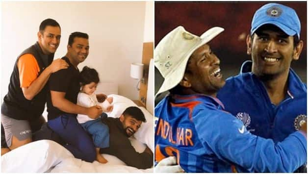 Cricket fraternity pour in wishes as MS Dhoni turn 37; Virender Sehwag came up with hilarious tweet