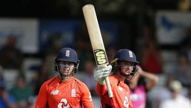 Danni Wyatt and Tammy Beaumont added 81 to the first wicket partnership Getty images