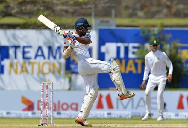 Danushka Gunathilaka Sri Lanka South Africa Galle Test 2018