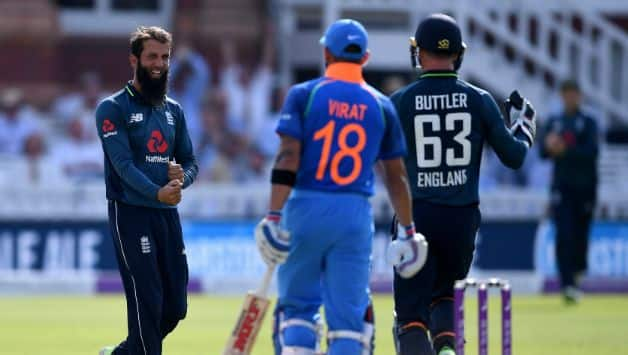 England comfortably won the match by __ runs © Getty Images