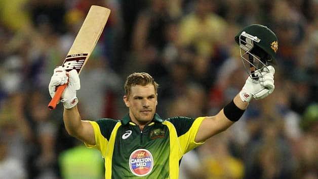 Australian captain Aaron finch scores 2nd century in t20i