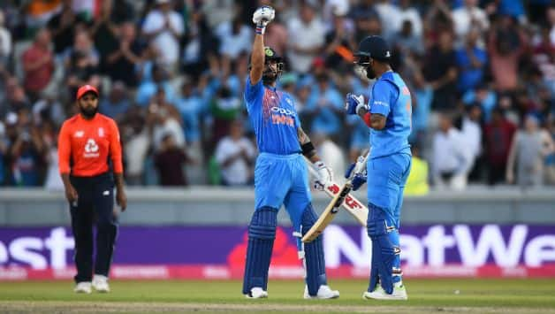 India won the game by 8 wickets and 10 balls to spare © Getty Images