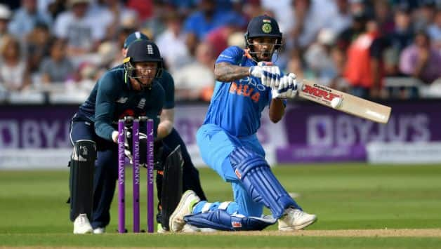 Shikhar Dhawan failed to score a good start of 40 off 27 © Getty Images