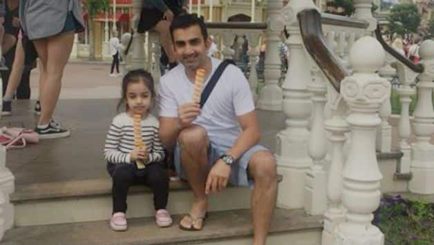 Gautam Gambhir shares funny video of his daughter clearing the yo-yo test