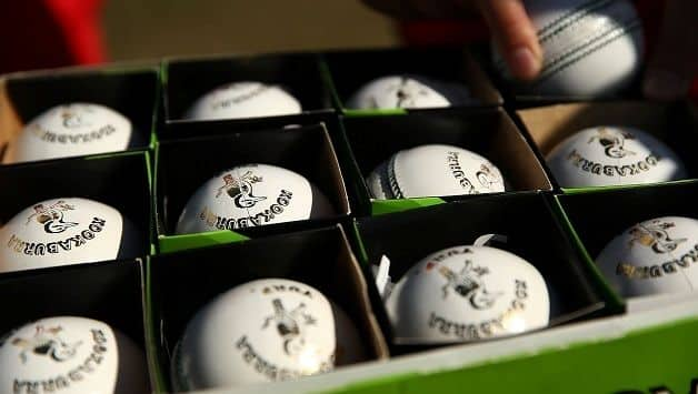 Kookaburra balls white ICC World T20