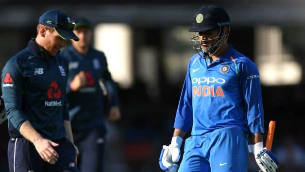 Twitter abuzz with speculation after MS Dhoni walks off with match ball