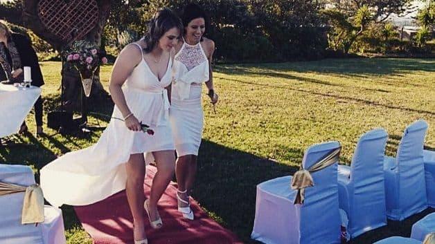 Marizanne Kapp Dane van Niekerk married