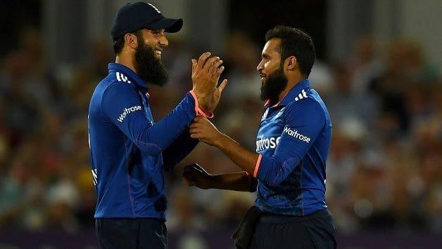 Moeen Ali Adil Rashid India England 3rd ODI 2018
