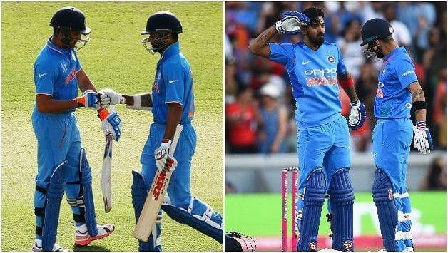 India England 3rd ODI 2018 Rohit Sharma Shikhar Dhawan KL Rahul Virat Kohli