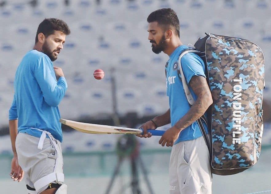 Murali Vijay and KL Rahul