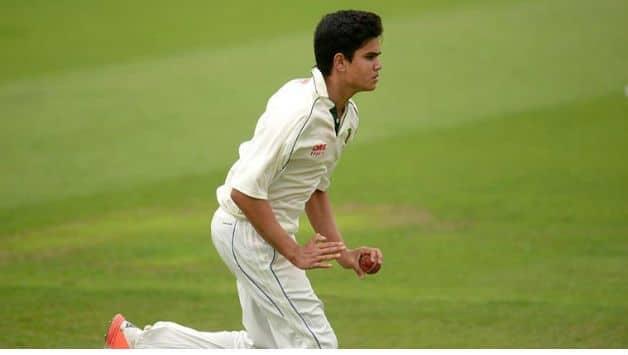 Under-19 cricket, India vs Sri Lanka: Arjun Tendulkar strikes in his second over
