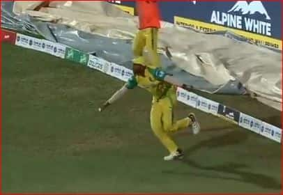 Video: Kovai Kings Shaharuk khan takes AB de Villiers like catch in TPL 2018