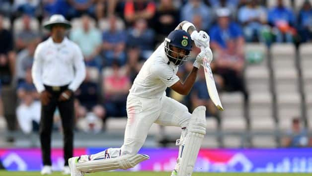 In four overs before stumps, India made 19 runs as the new ball continued to move wildly (Getty Image)