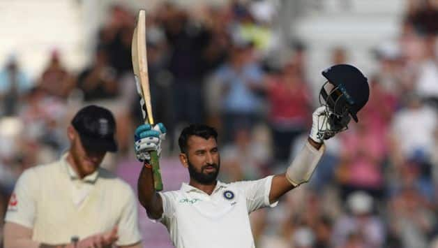 Cheteshwar Pujara then batted with the tail and compiled his 15th Test century