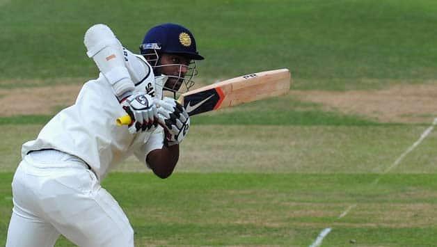 Abhinav Mukund made 50 in India Red's second innings © Getty