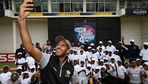 UAE Singapore Asia Cup Qualifiers 2018 Chirag Suri Shaiman Anwar