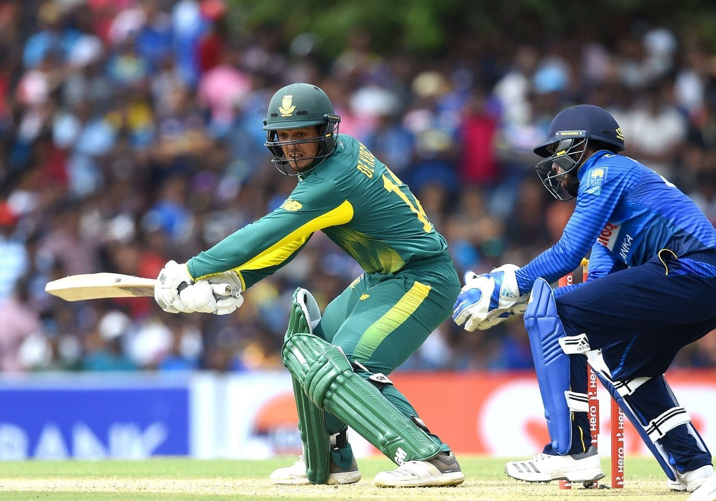 Captaining in two ODIs will allow Quinton de Kock to grow: Faf du Plessis