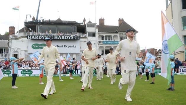 England cricket team on Day 2 of Trent Bridge Test