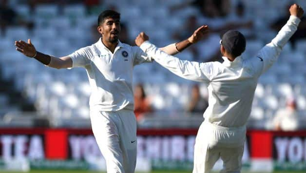 Jasprit Bumrah's 5 wicket haul helps India inch closer to a historic win In Nottingham test