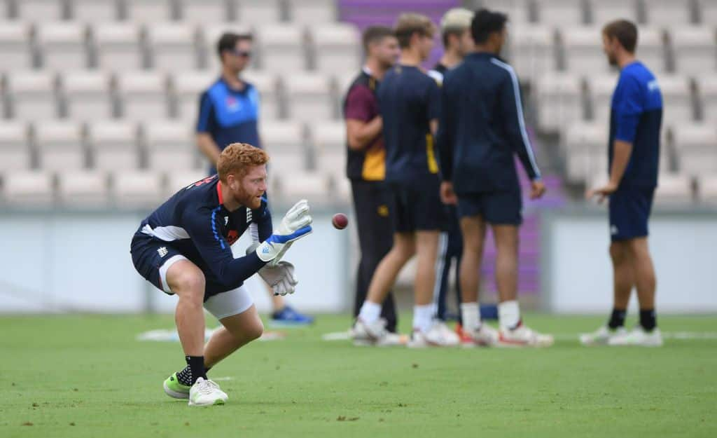 Jonny Bairstow Training Ageas Bowl