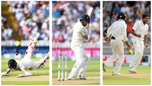 Virat Kohli's send-off to Joe Root, R Ashwin's web and other talking points from day one at Edgbaston