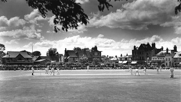Mitcham Cricket Green Surrey oldest ground