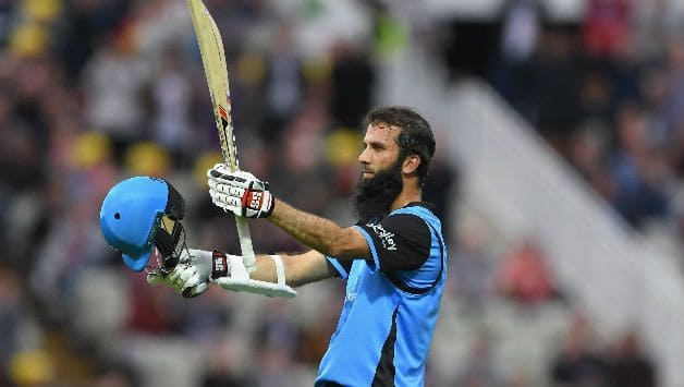 T20 Blast: Moeen Ali's century helps Worcestershire win by 15 runs against Warwickshire