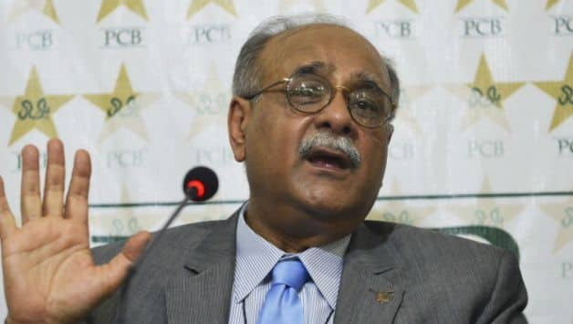 Najam Sethi has stepped down as PCB chairman © AFP