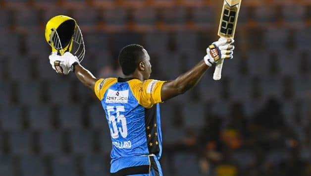 CPL 2018: Kieron Pollard's 104 powers St Lucia Stars to 38-run win over Barbados Tridents