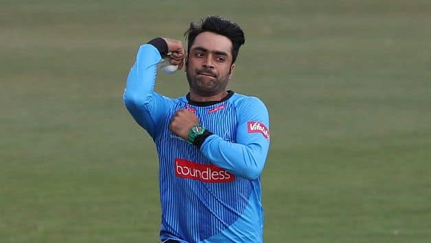 Rashid Khan bowling for Sussex Sharks © Getty Images (File photo)