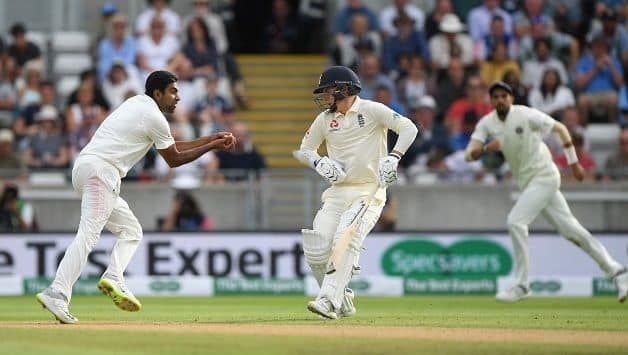 Ravichandran Ashwin takes the catch — but what if Sam Curran had not made way © Getty Images