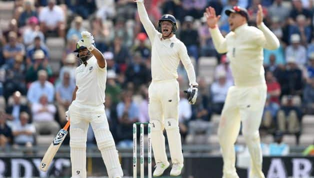 India vs England : Rishabh Pant equals Irfan Pathan, Suresh Raina record for most balls without scoring in Tests