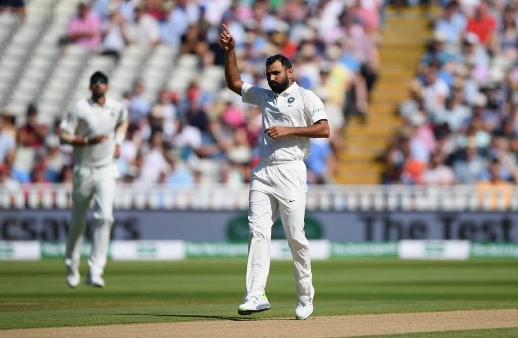 Mohammed Shami needed four deliveries to take the final England wicket. @Getty Images