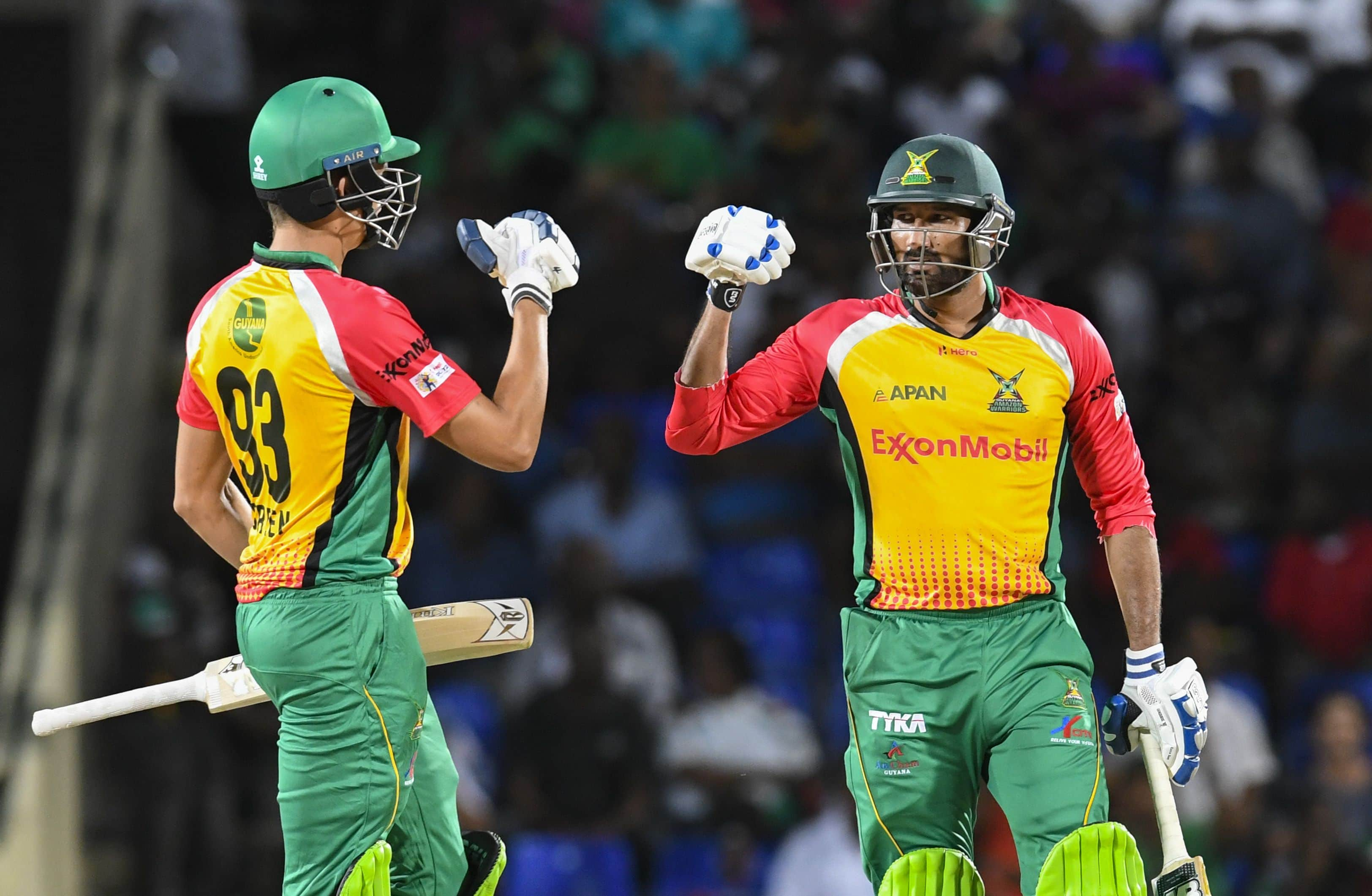 CPL 2018: Imran Tahir, Sohail Tanvir star in Guyana Amazon Warriors win