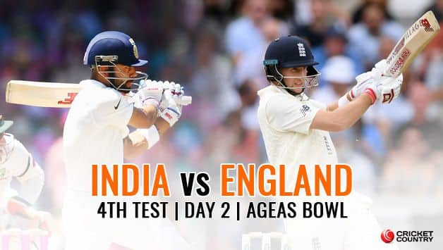 India vs England 2018, 4th Test, Day 2 Live cricket score: Pujara ton hands India 27-run lead