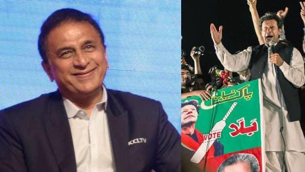 Sunil Gavaskar Will take government's advice on attending Imran Khan's Oath ceremony